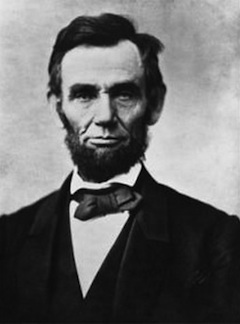Portrait Abraham Lincoln