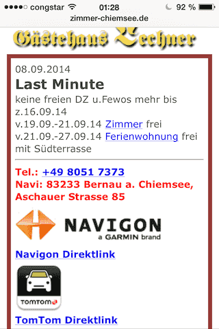 Screenshot iPhone