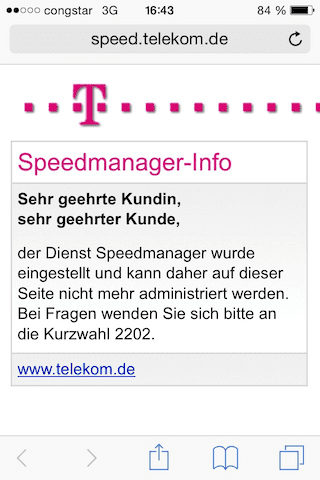 Screenshot vom iPhone